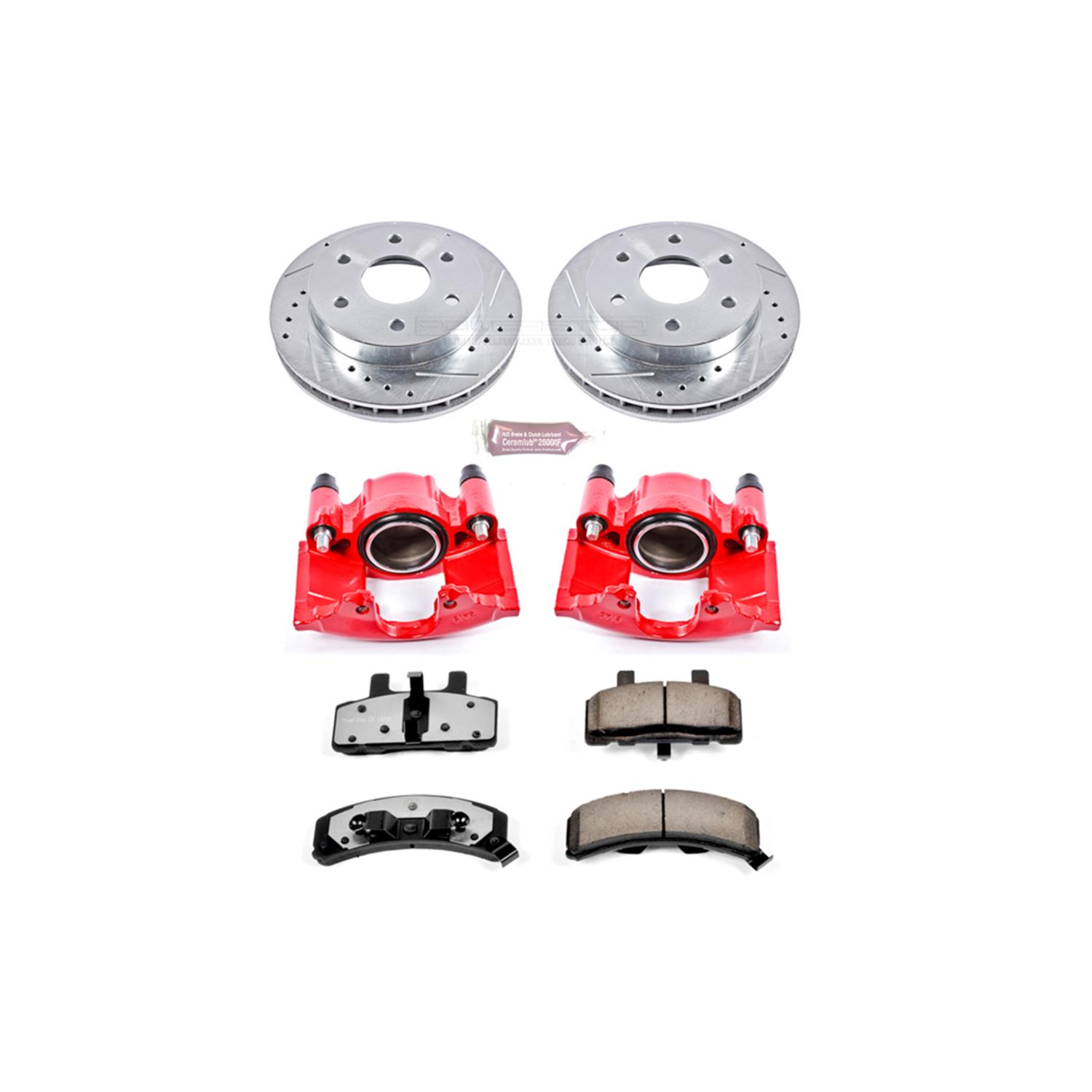 hight resolution of power stop z36 truck and tow performance brake kits with calipers kc1970 36 free shipping on orders over 99 at summit racing