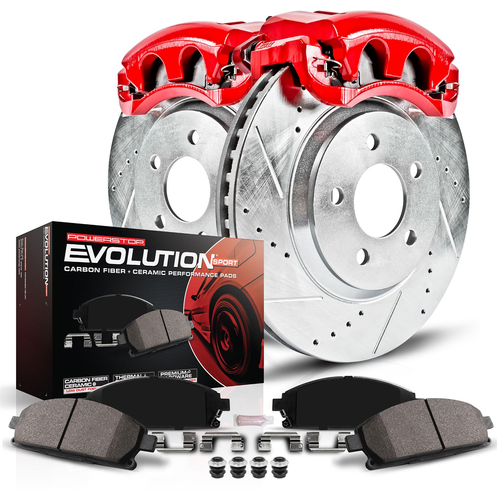 hight resolution of power stop z23 evolution sport brake upgrade kits with calipers kc5247 free shipping on orders over 99 at summit racing