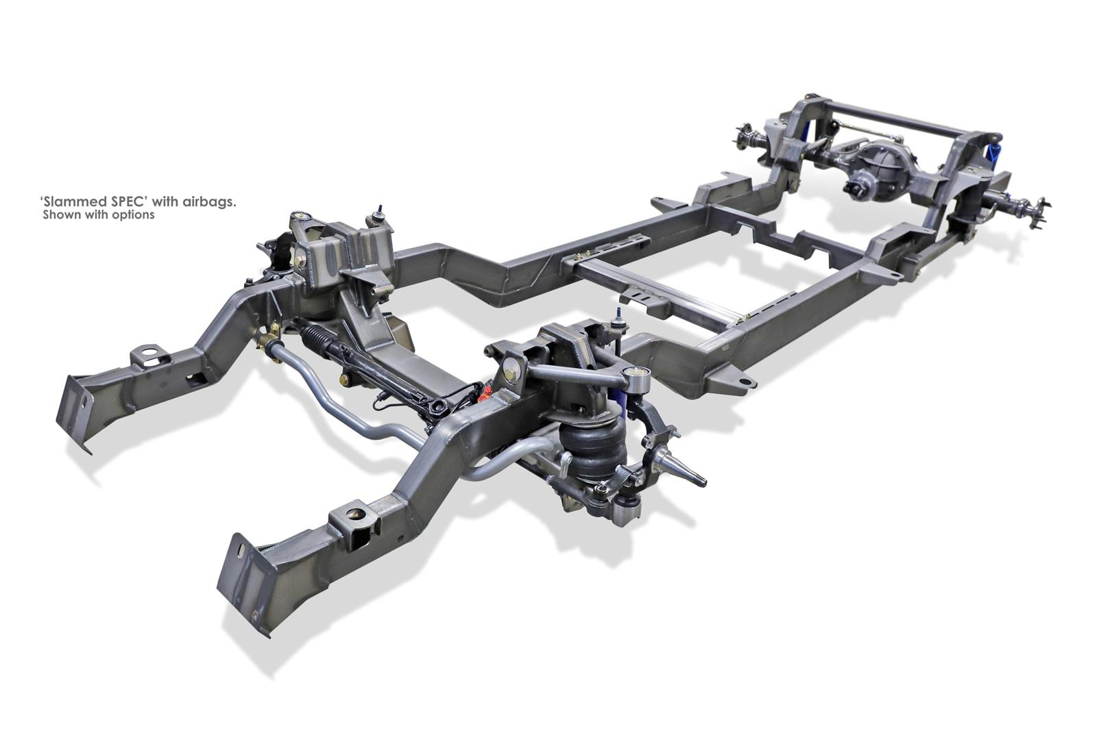 hight resolution of roadster shop spec chassis kits 6066c10slast free shipping on orders over 99 at summit racing