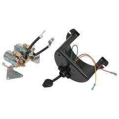 Ramsey Winch Solenoid Wiring Diagram 3 Single Coil Pickup Replacement 12 V Re 8000 12000