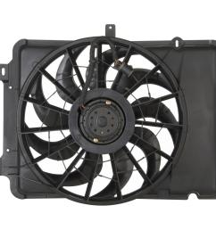 spectra premium cooling fan assemblies cf15041 free shipping on orders over 99 at summit racing [ 1500 x 1500 Pixel ]