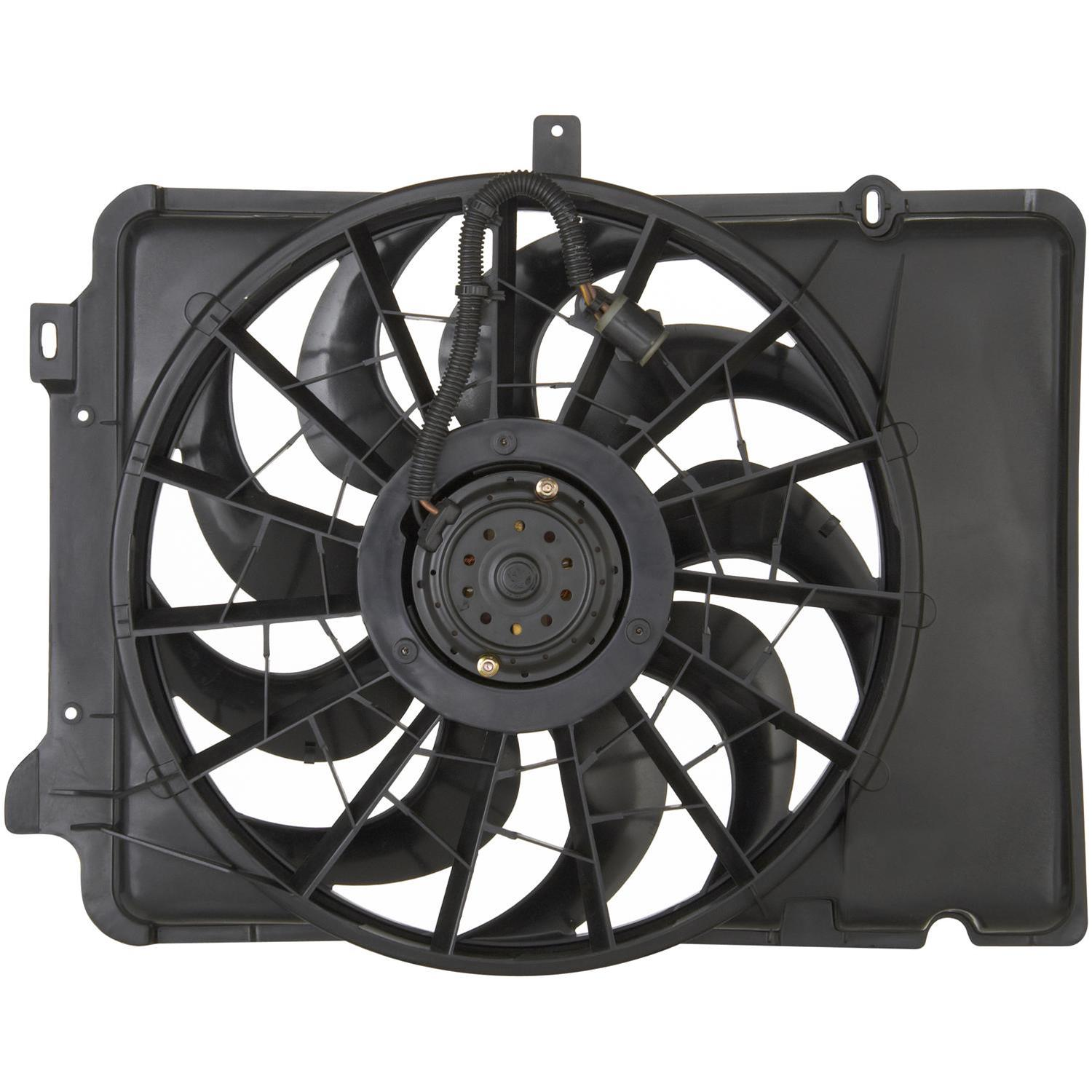 hight resolution of spectra premium cooling fan assemblies cf15041 free shipping on orders over 99 at summit racing