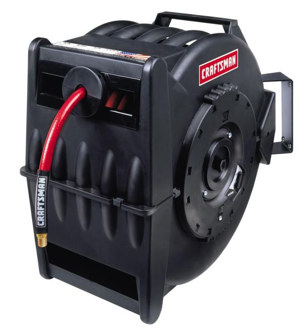 Craftsman Retractable Closed-face Hose Reels 009-16340 - Free Shipping Orders Over 99