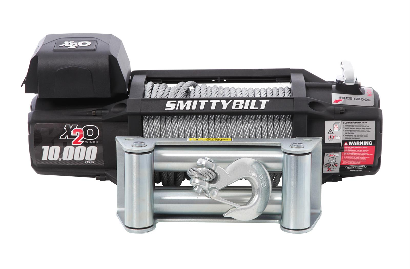 hight resolution of smittybilt gen2 x20 winches 97510 free shipping on orders over 99 at summit racing