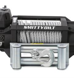 smittybilt gen2 x20 winches 97517 free shipping on orders over 99 at summit racing [ 1600 x 997 Pixel ]