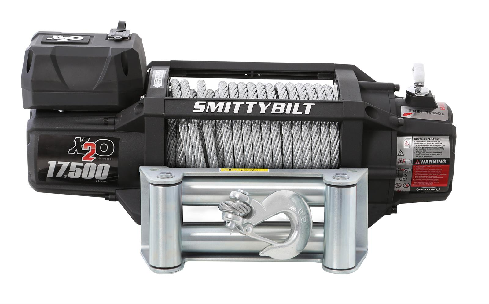 hight resolution of smittybilt gen2 x20 winches 97517 free shipping on orders over 99 at summit racing
