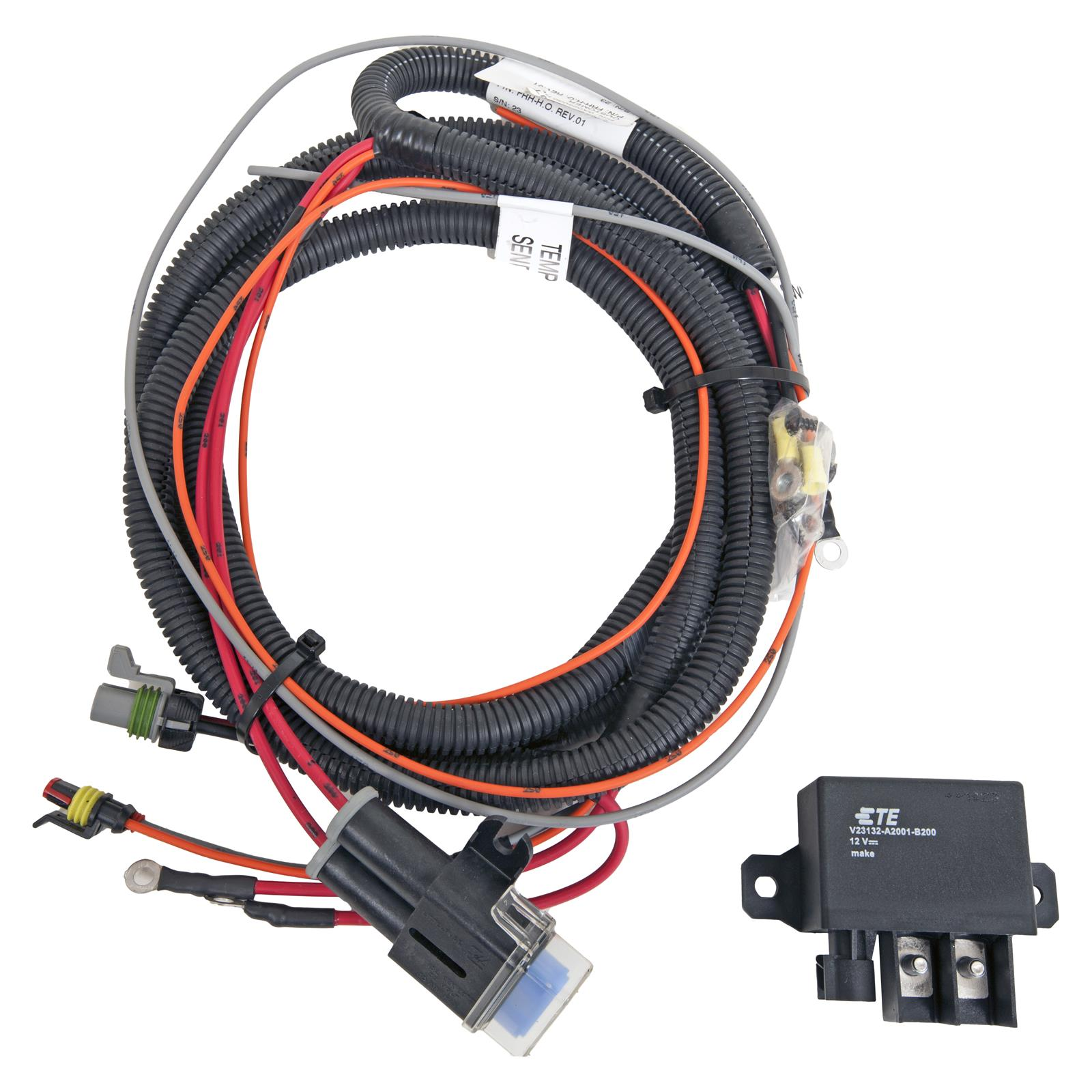 hight resolution of spal electric fan relay wiring kits frh ho kit free shipping on orders over 99 at summit racing