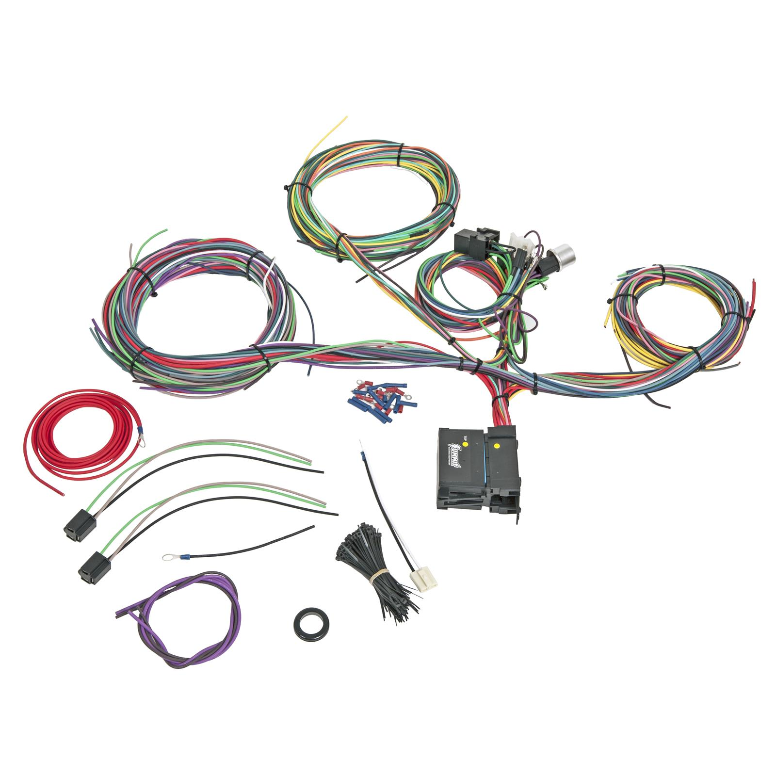 hight resolution of summit racing 18 circuit universal wiring harnesses sum 890021 free shipping on orders over 99 at summit racing