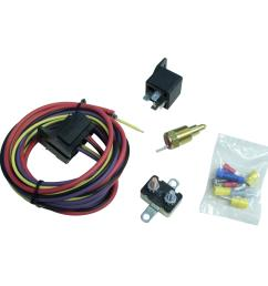 summit racing electric fan thermostat kits sum 890115 free shipping on orders over 99 at summit racing [ 1600 x 1600 Pixel ]