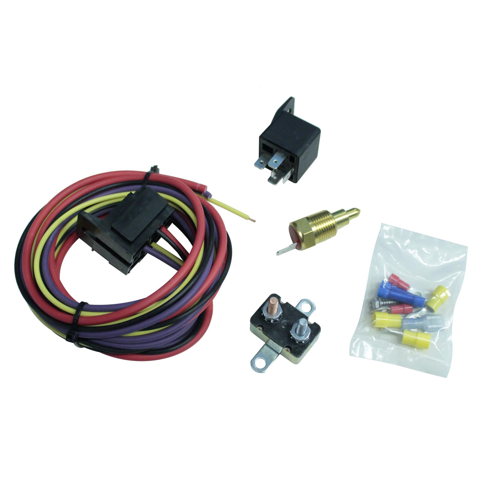 hight resolution of summit racing electric fan thermostat kits sum 890115 free shipping on orders over 99 at summit racing