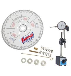 summit racing cam degreeing kits sum g1056 16 free shipping on orders over 99 at summit racing [ 1600 x 1600 Pixel ]