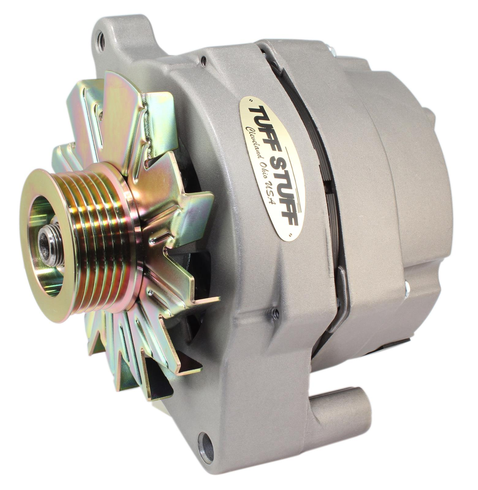 hight resolution of tuff stuff performance high amp output factory cast plus alternators 70686g free shipping on orders over 99 at summit racing