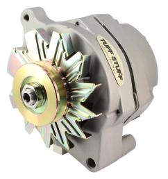 tuff stuff performance high amp output factory cast plus alternators 7068 free shipping on orders over 99 at summit racing [ 1510 x 1600 Pixel ]