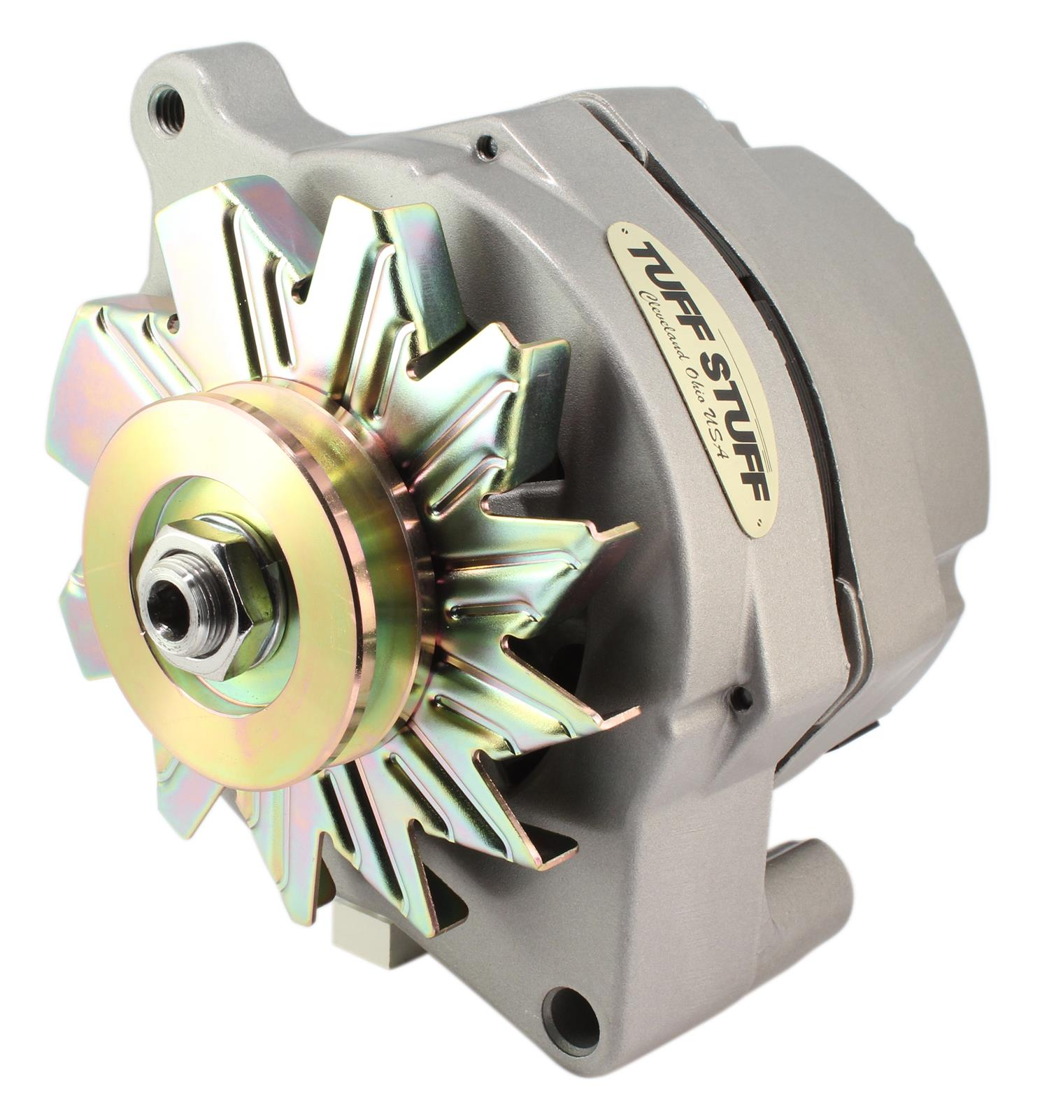 hight resolution of tuff stuff performance high amp output factory cast plus alternators 7068 free shipping on orders over 99 at summit racing