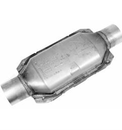 walker calcat universal catalytic converters 80907 free shipping on orders over 99 at summit racing [ 1500 x 1500 Pixel ]