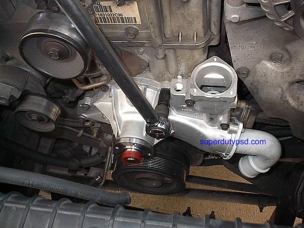 96 F250 Fuel System Diagram Ford Super Duty Water Pump Replacement Procedure