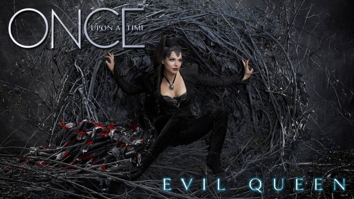 Evil Queen From Serial Once Upon A Time HD Wallpaper