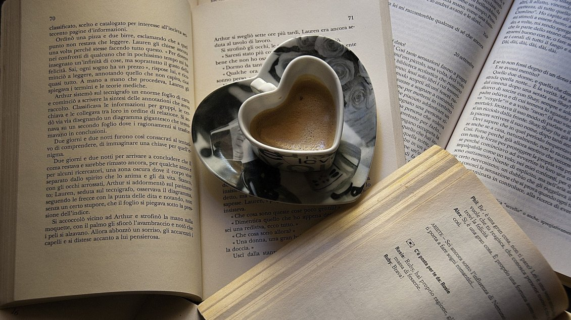 Cute Coffee Mug Wallpaper Read A Great Book And Drink A Special Coffee Good Morning