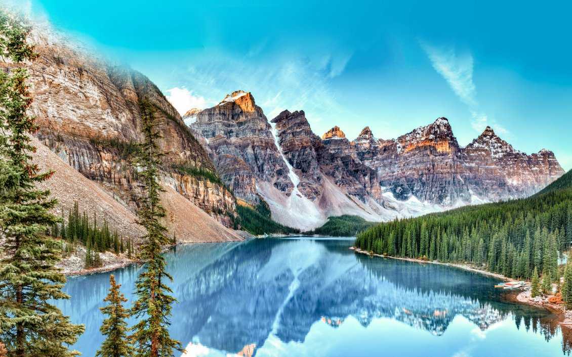 Cute Cartoon Easter Wallpaper Wonderful Nature Landscape Mountains And Blue Water Lake