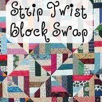 Swap-bot swap: Quiltcast Member Swap - Strip Twist Blocks