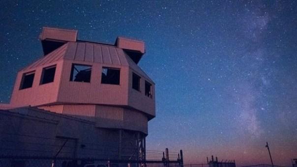 Resultado de imagen de telescopio en Campo de Miles White Sands,