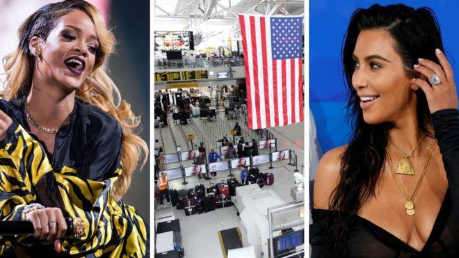 La cuenta de Instagram de la Administración de Seguridad en el Transporte de EE.UU. es un éxito solo superado por Rihanna (izda), National Geographic y Kim Kardashian.