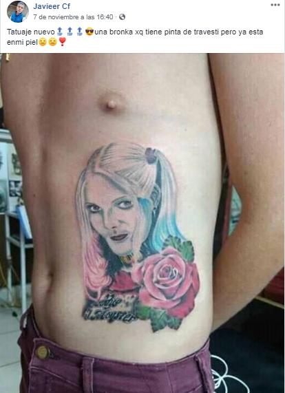 Se Hizo Famoso Por Sus Tatuajes Fallidos Y Falsos Tele 13