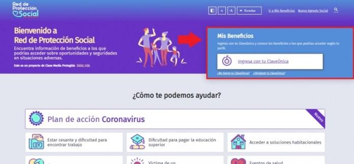 Página web para revisar bonos y subsidios