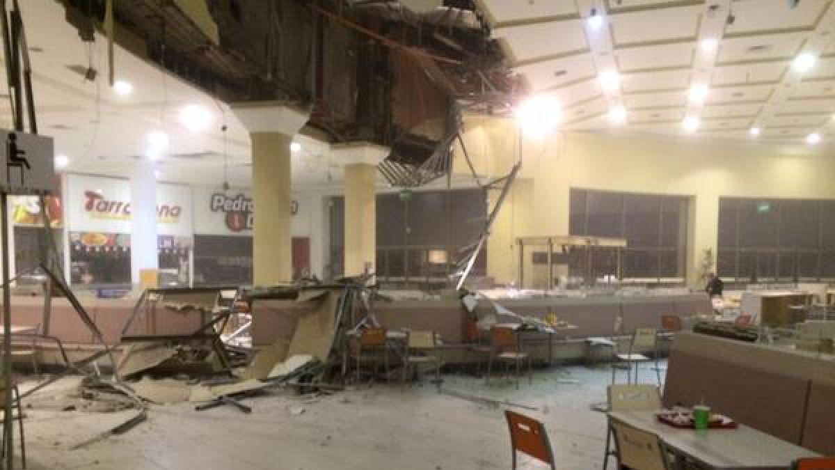 Terremoto provoca grandes daos en mall de La Serena  Tele 13