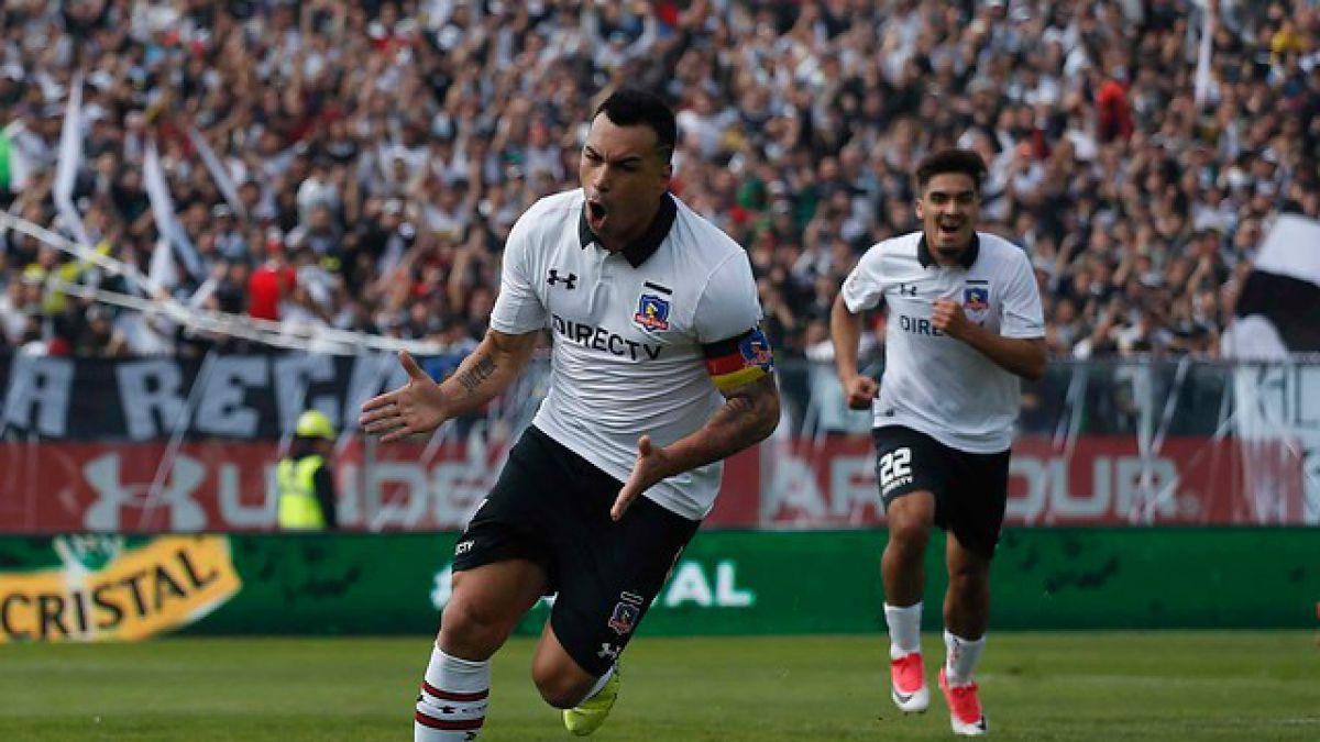 Colo Colo Golea A La U En El Superclásico Con Triplete De Esteban Paredes