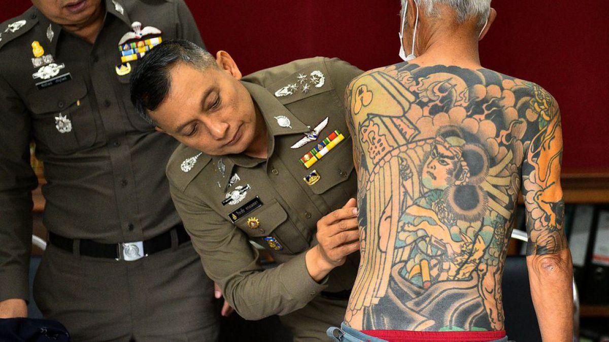 Capo De La Yakuza Es Arrestado Por Sus Tatuajes Tele 13