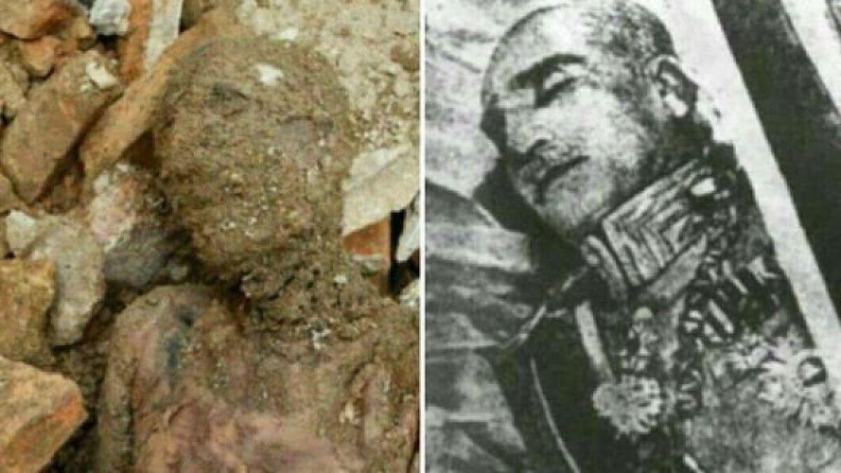 El sorprendente hallazgo de una momia que aseguran pertenece a Reza Sha Pahlevi
