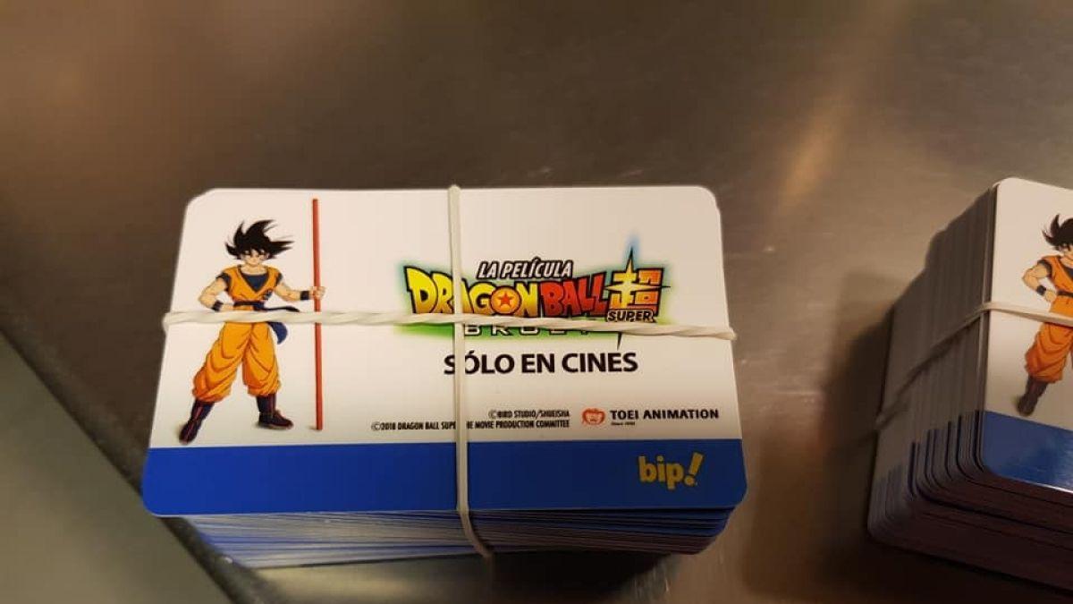 Es oficial: Metro de Santiago pone a la venta tarjetas Bip de Dragon Ball