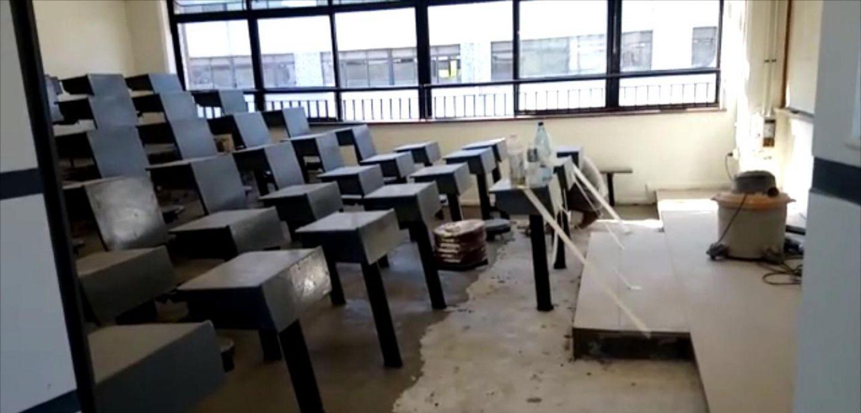 Ex alumnos de Instituto Nacional remodelaron sala con su