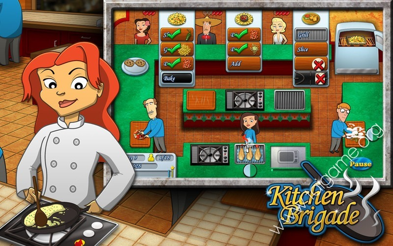 Kitchen Brigade  Download Free Full Games  Time