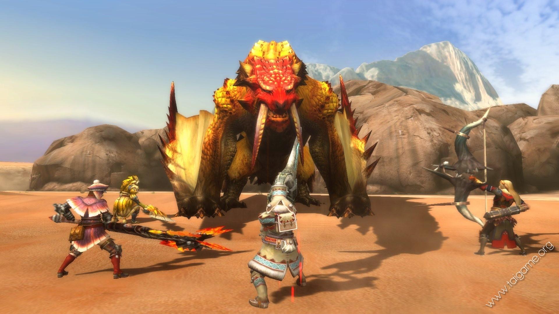 Monster Hunter Tri (Thợ săn quái vật) - Tai game   Download game Hành động