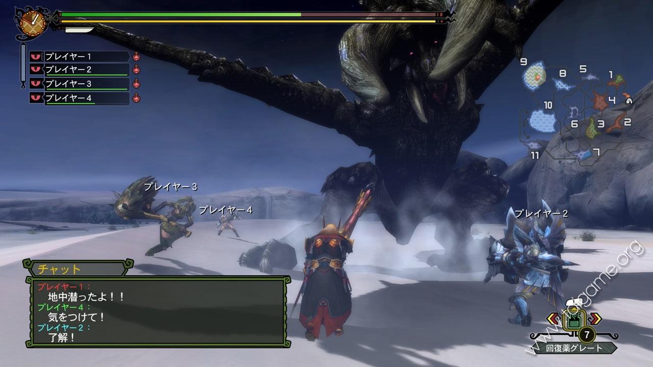 Monster Hunter Tri (Thợ săn quái vật) - Download Free Full Games   Arcade & Action games