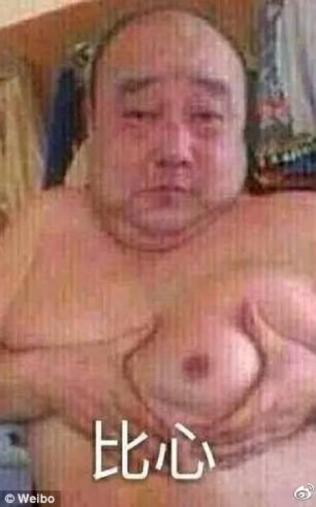 Image result for heart shaped breast challenge men