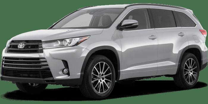 2018 toyota highlander se new car prices