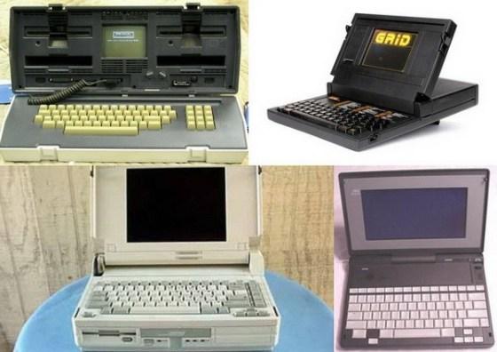 Istoria laptop-urilor în imagini