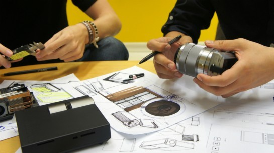 Definitivarea conceptului pentru proiectorul P1