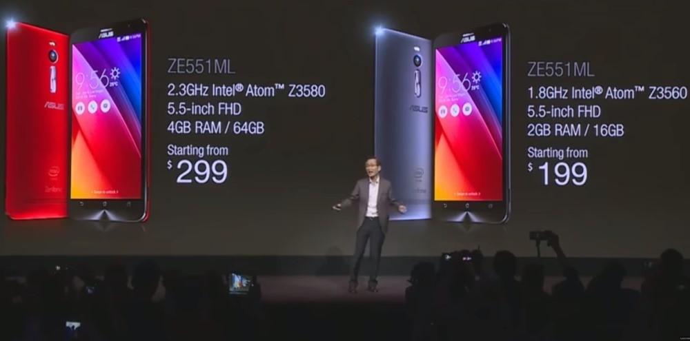 Lansare ASUS Zenfone 2 în America de Nord