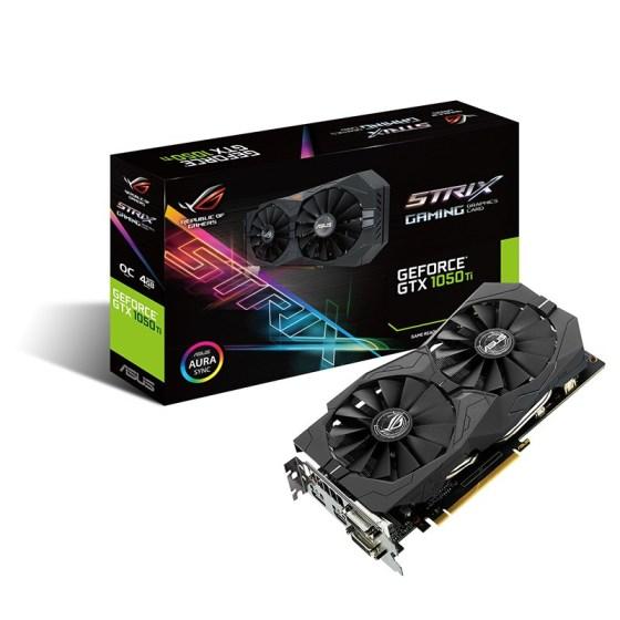 ASUS ROG Strix GeForce GTX 1050 Ti