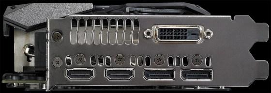 Conectori ASUS Radeon RX 580