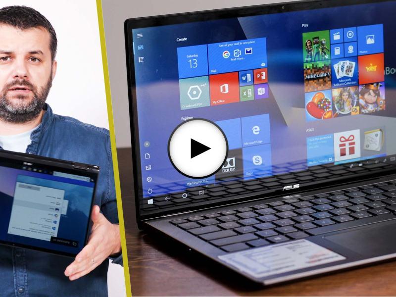 Prezentare video ZenBook Flip UX362