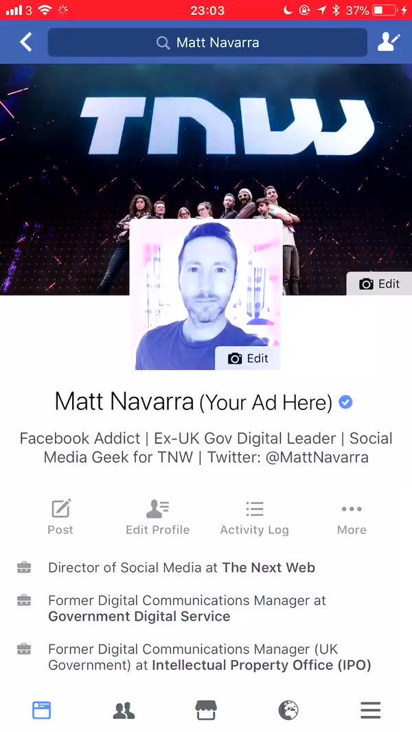 5 new updates Observed in Facebook App