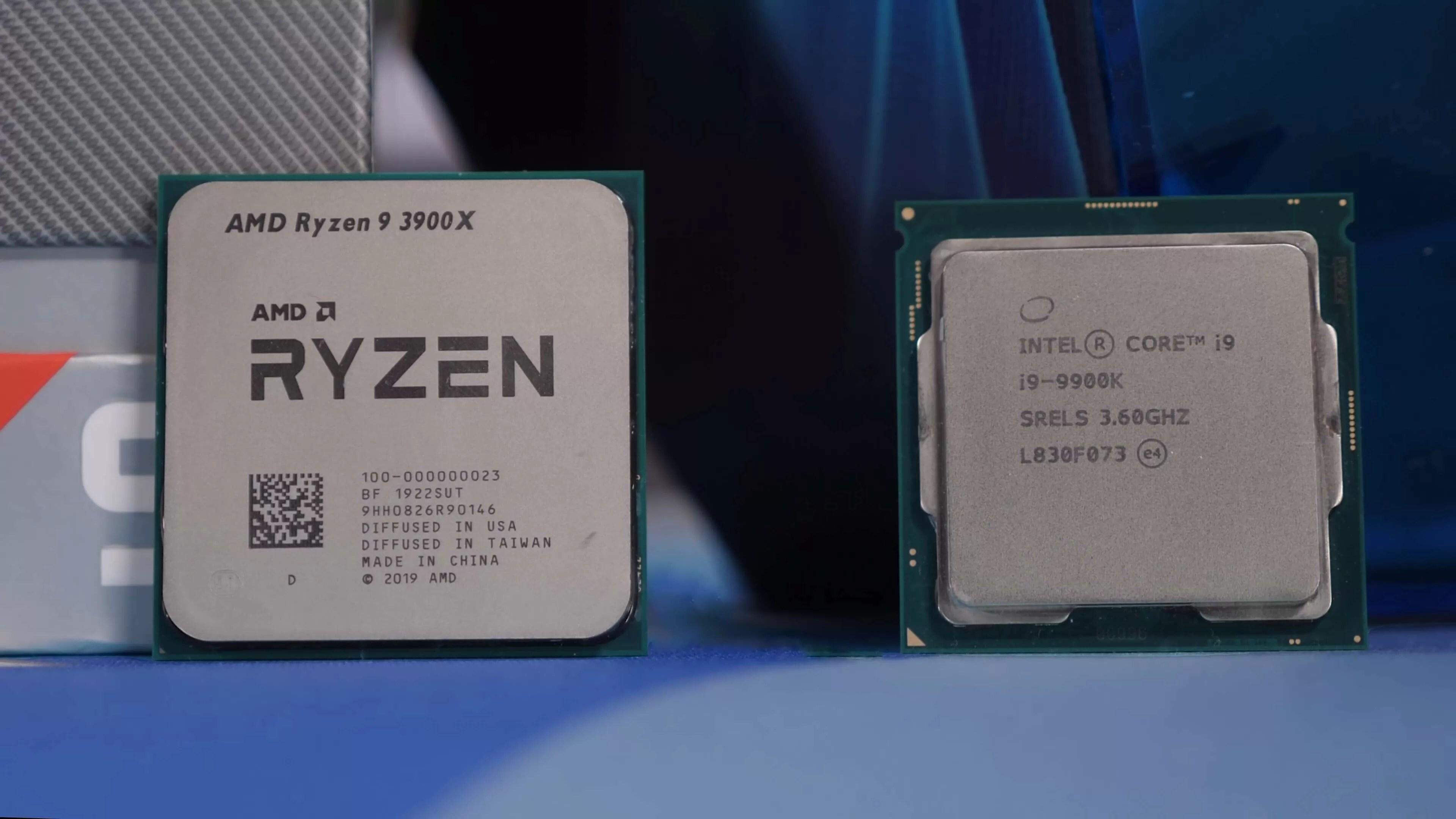 ryzen 9 3900x vs