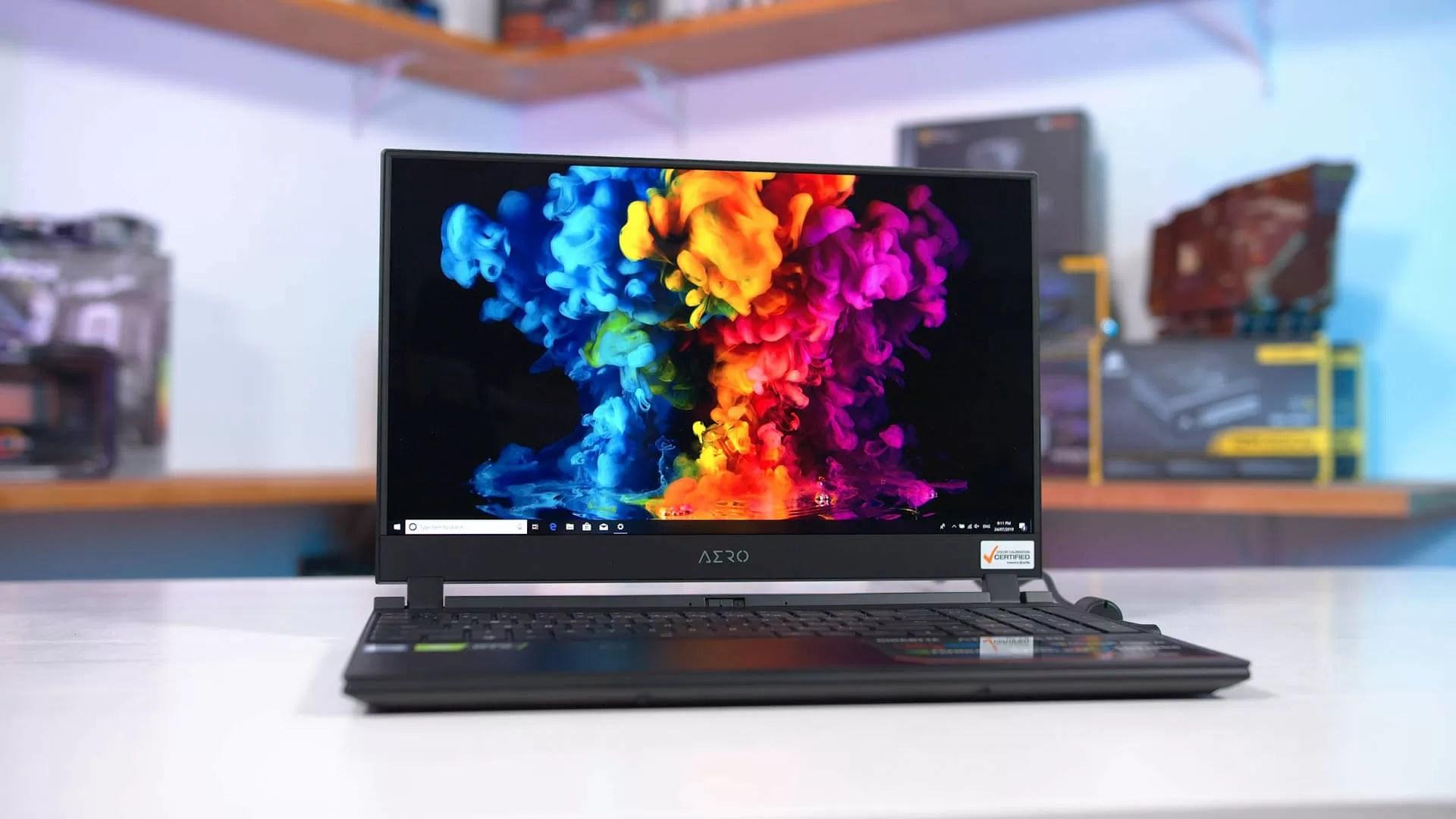 testing an oled laptop