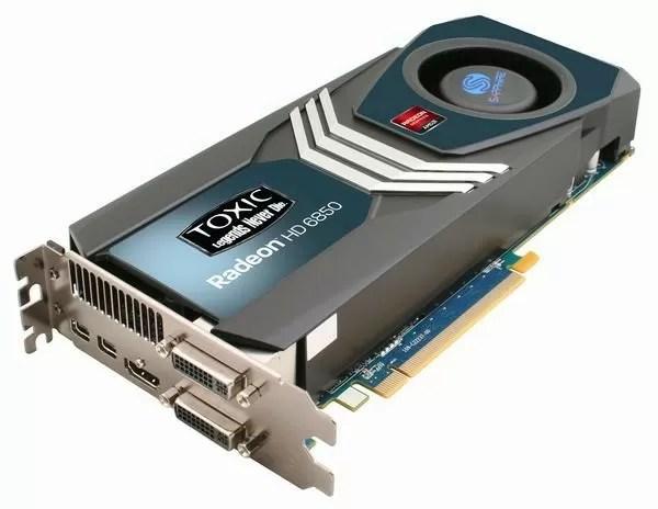 Sapphire Radeon HD 6850 Toxic 1GB GDDR5 PCIe Reviews - TechSpot