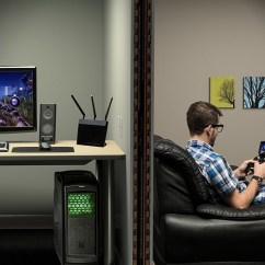 Living Room Gaming Pc Dark Gray Chairs Nvidia Gamestream Transforms Shield Into A Serious Console Competitor